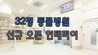 동물병원 인테리어) 서울 송파구 문정동 신규 오픈 동물…