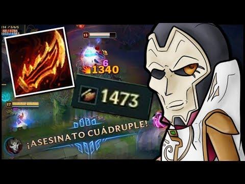 ¡JHIN GUINSOO +1400 AD (y más)! - ¡1 BÁSICO = 1 KILL! - IZI QUADRA KILL