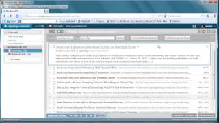 Attivazione e impiego di BlogLines