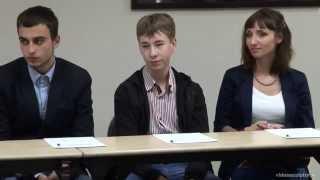 Видеосъемка дискуссии от videosculptor.ru (2013) - 1
