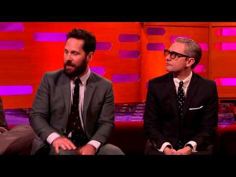 Paul Rudd talks about his fangirl moment on Captain America: Civil War - The Graham Norton Show