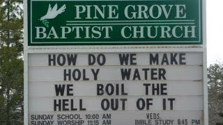 HILARIOUS (BUT REAL) CHURCH SIGNS!!😂😂
