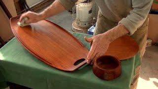Restoring Midcentury Modern Teak Objects Thomas Johnson Antique Furniture Restoration