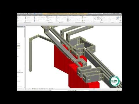 Пример реального проекта шинопровода / The example of the actual bus duct project