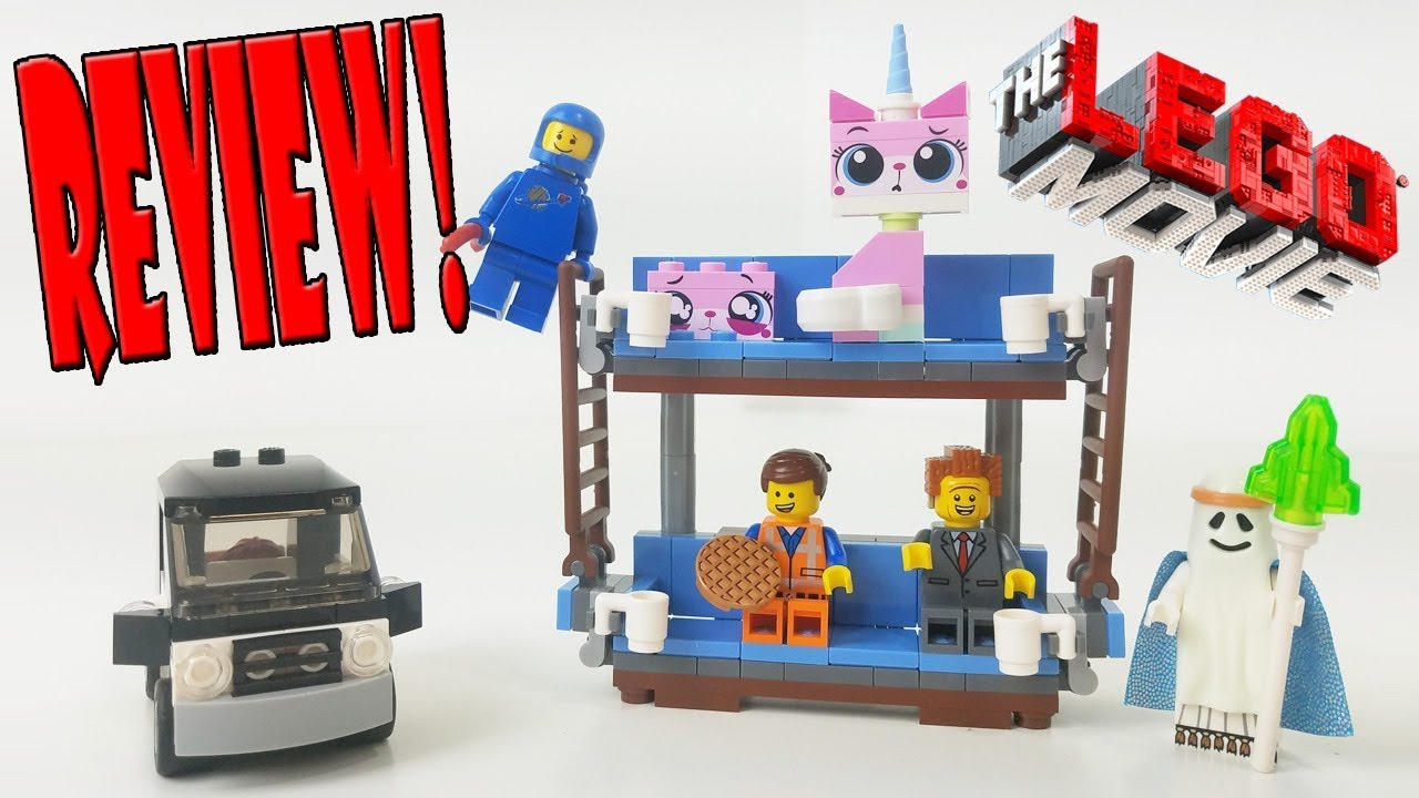 The Lego Movie Review 70818 Double Decker Couch 2015 Set Youtube