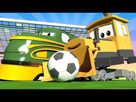 Troy o Trem - Especial FIFA - Cidade do Trem Unido - Cidade do Trem 🚄 Desenhos animados