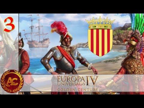 Let's Explore - EU4 Golden Century - Aragona #3 [ITA]
