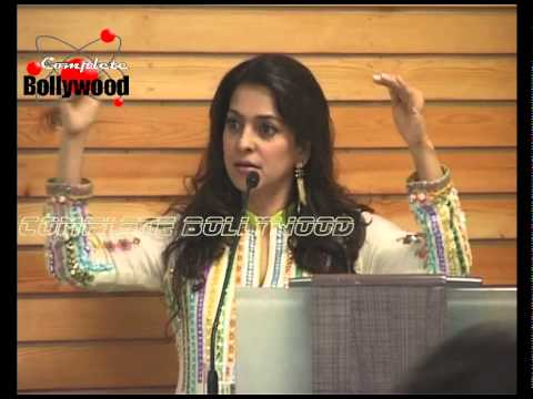 Juhi Chawla Attends 'Samvaad' By Navbharat Times Celebrating The Ideas Of The Young