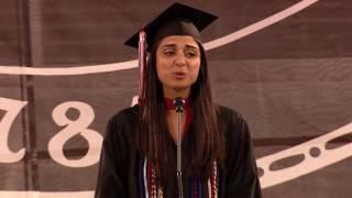 University of Georgia Spring 2017 Undergraduate Student Commencement Speaker: Avery Hudson thumbnail