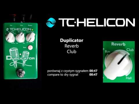 TC HELICON Mic Mechanic 2 Duplicator Harmony Singer 2