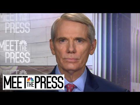 Senator Rob Portman: 'Of Course We Should Talk To' Russia (Full) | Meet The Press | NBC News