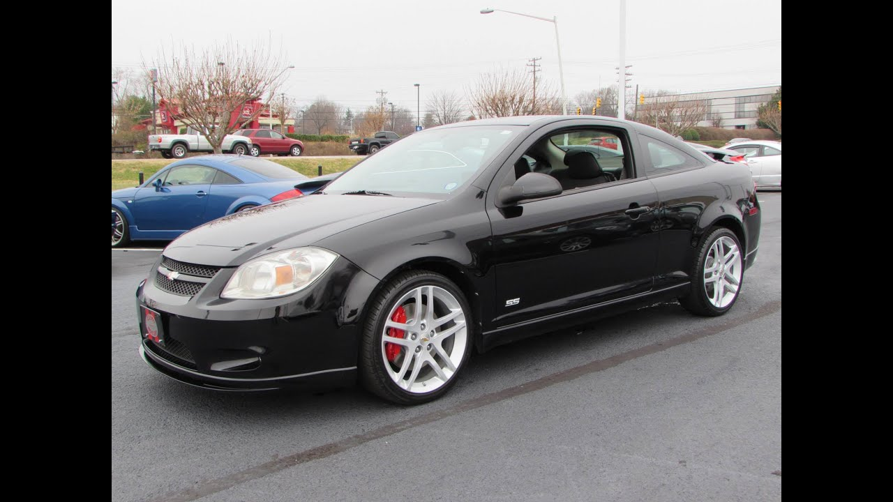 2010 Cobalt Ss >> 2010 Chevrolet Cobalt Ss Turbocharged Coupe Start Up Exhaust And