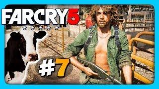 Far Cry 5 Прохождение на русском #7 ✅ КОРОВЫ – ПАТРИОТЫ АМЕРИКИ!