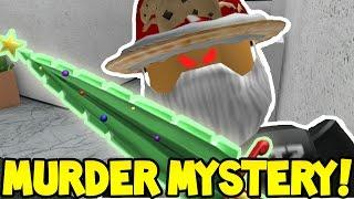 Roblox | MURDER MYSTERY | GODLY XMAS MURDERER!!