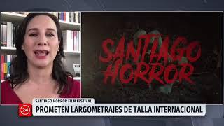 """Blanca Lewin habla sobre el """"Santiago Horror Film Festival"""""""