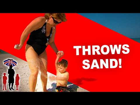 Supernanny  Kids Misbehave at the Beach