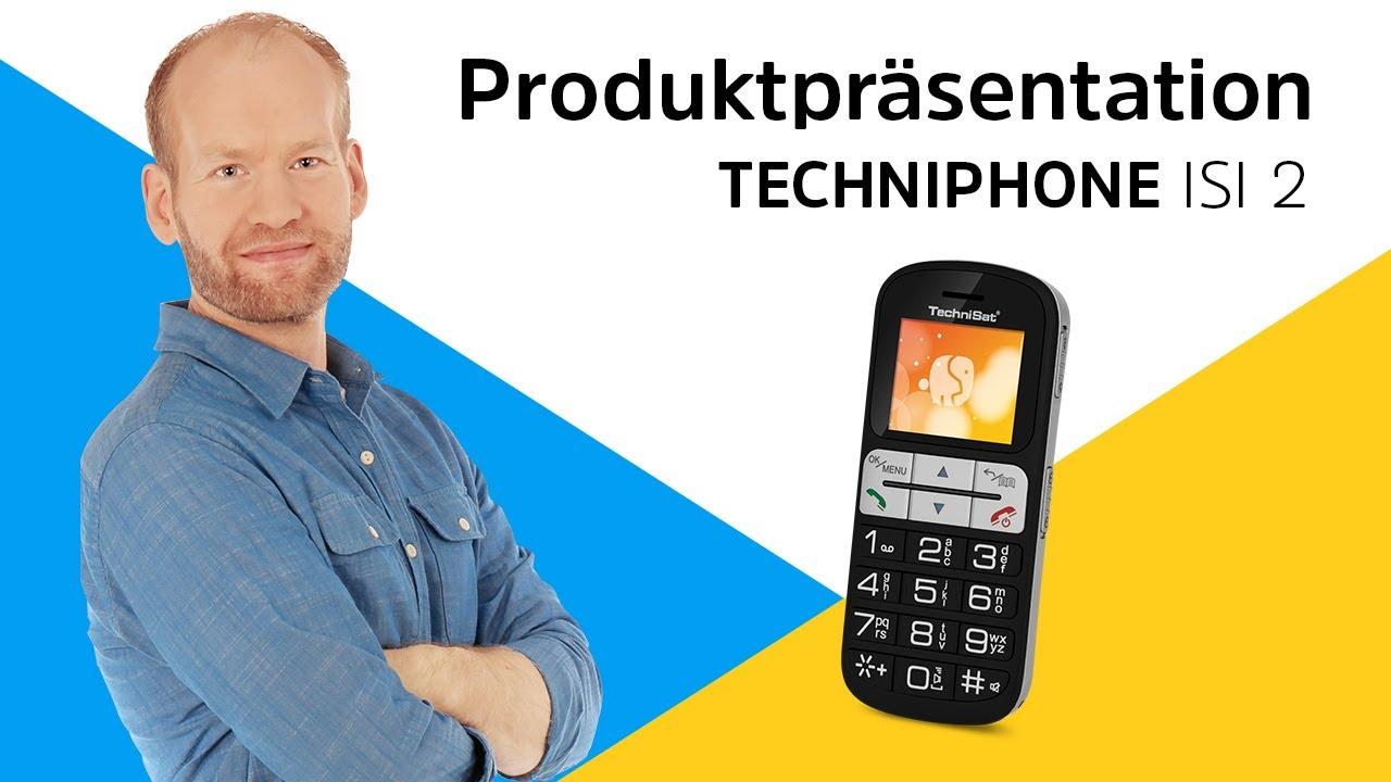 Video: TECHNIPHONE ISI 2 | Das supereinfach bedienbare Mobiltelefon | TechniSat