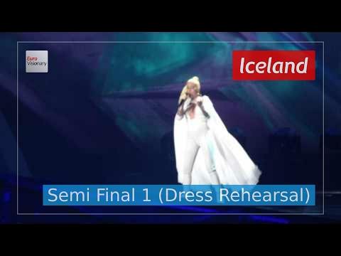 Iceland Eurovision 2017 - Paper (Semi Final 1 Dress Rehearsal, Live in 4K) - Svala