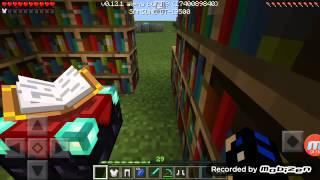 Minecraft pe büyü masası kullanımı