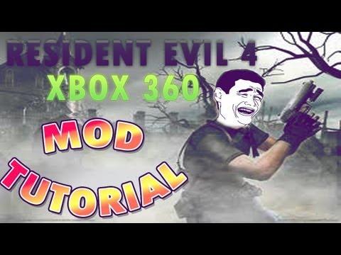 Como Mod Resident Evil 4 Xbox 360 | How To Mod Resident Evil 4 Xbox 360