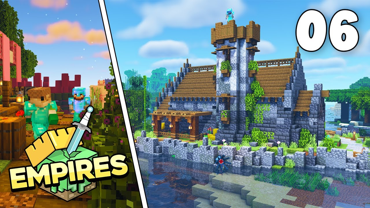 Empires SMP - New Storage Building & Helping The COD Empire!!! - Ep.6 [Minecraft 1.17 Let's Play]