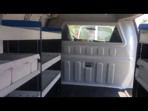 Knapheide Sortimo Bin Package In Chevy Van