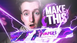 How To Make An EPIC Youtube Banner Background In Photoshop (CC/CS6)