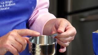 How to Measure White Sugar
