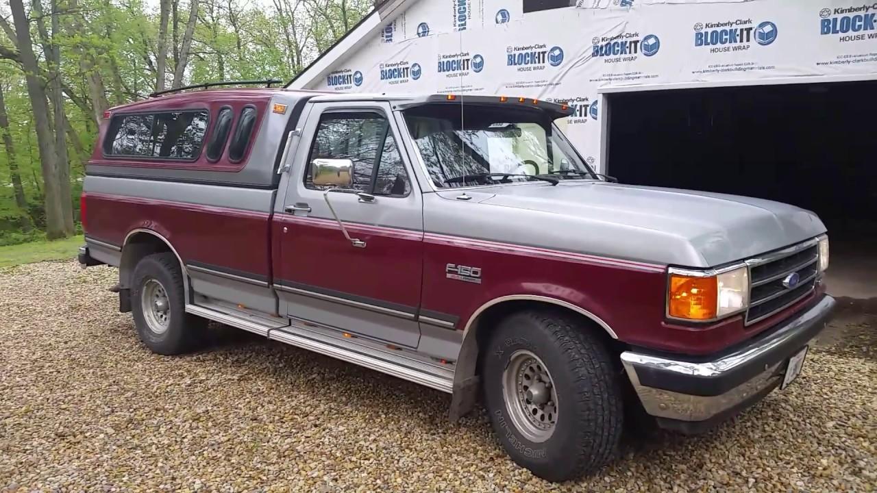 1991 ford f 150 xlt lariat full tour