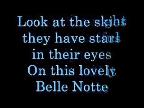 Bella Notte Lyrics