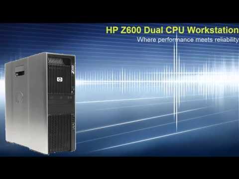 HP Z600 workstation Refurbished by KelsusIT