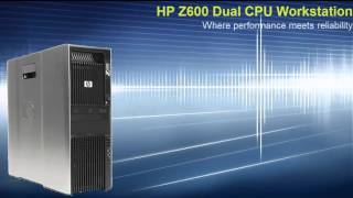 HP Z600 workstation Refurbished by KelsusIT