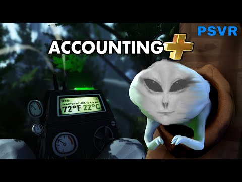 Accounting+ : PSVR - First Impressions!!!!