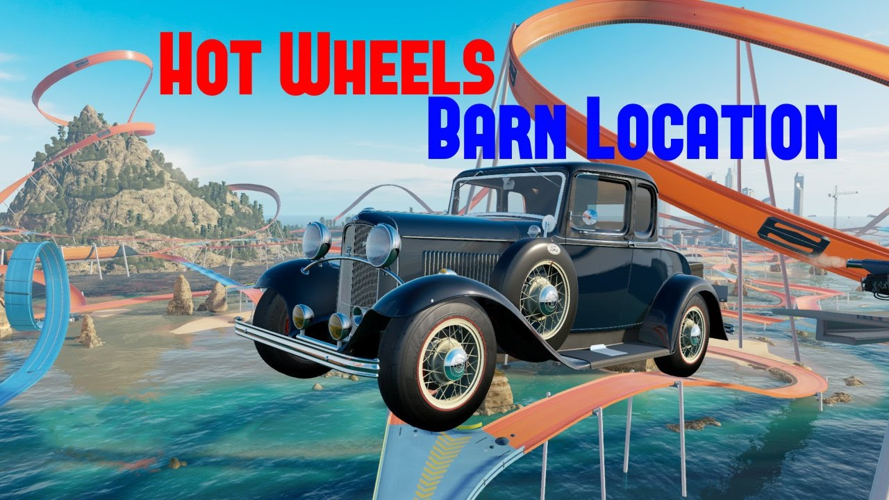 Forza Horizon 3 Hot Wheels Expansion DLC Barn Find Location