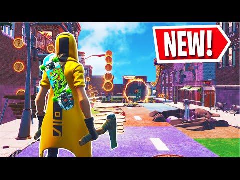 Fortnite Downtown Drop LTM Gameplay + Challenges! (Fortnite x Jordan)