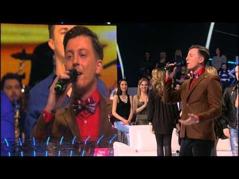 Milan, Dinca i Milos - Splet pesama - (LIVE) - Zvezde Granda specijal - (Tv Prva 01.02.2015)