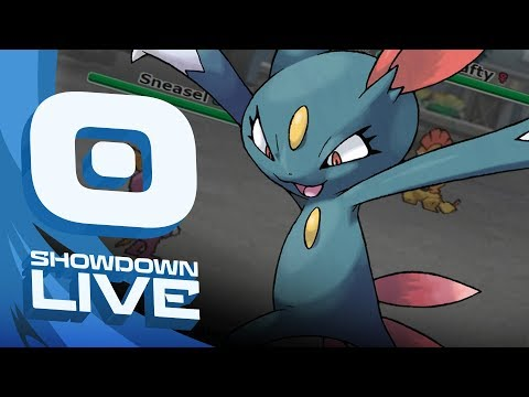 """""""SNEASEL SUSPECT TEST #1"""" Pokemon Ultra Sun & Moon! NU Showdown Live w/PokeaimMD"""