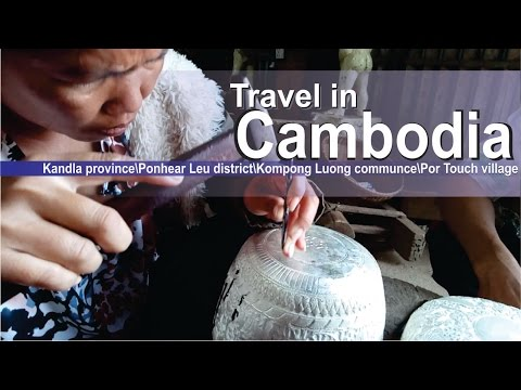 Silversmith Village in Cambodia - Cambodia traditional Art