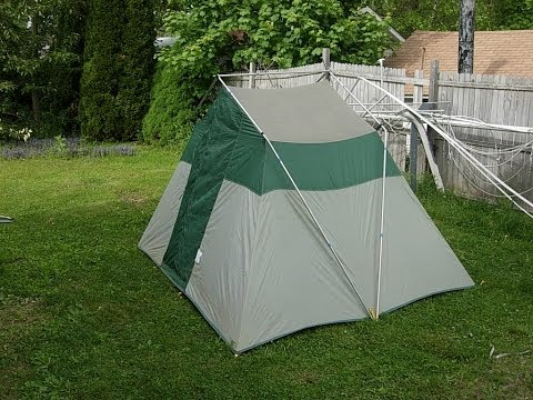 1121 & Timber Top Tent - YouTube