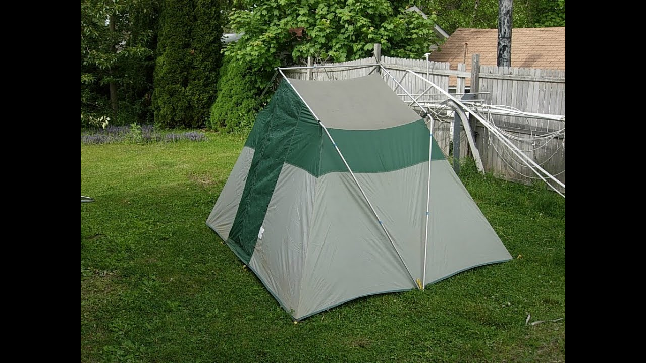 & Sears Hillary Tent set up - YouTube