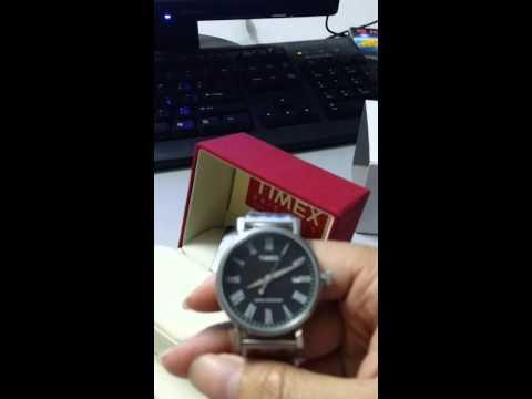 Timex Mens T2N539 Originals Classic Roman Numerals Black Dial