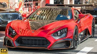 ZENVO TSR-S - OVERVIEW, rear wing in action and driving [2018 4K]