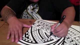 HIVAink- Ashley Tago Polynesian art