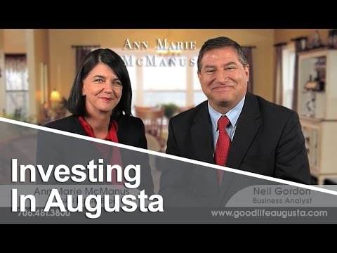 Augusta Georgia Real Estate Agent: Investing in Augusta
