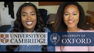HOW WE GOT INTO OXFORD & CAMBRIDGE | OUR EXPERIENCE & TIPS