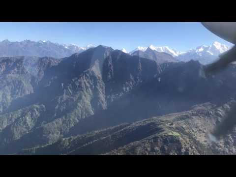 Lukla Airport Takeoff, Nepal | World's most dangerous airport | 5 June 2017