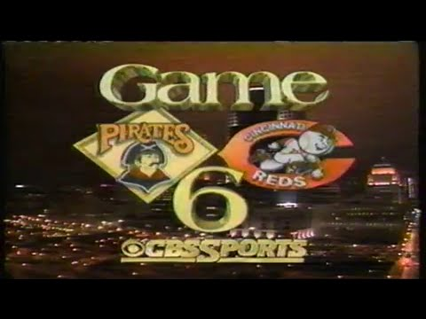 1990 NLCS Game #6: Pirates at Reds