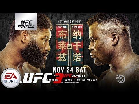 EA UFC 3: BLAYDES VS NGANNOU 2 UFC Fight Night 141