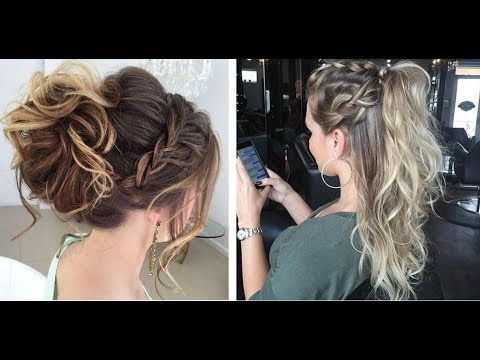 Fashion Hairstyles | Model And Prom Hairstyles | Hairstyles Compilation 2018
