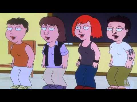 Family Guy Lesbian Kiss